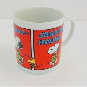 Peanuts Characters Vintage Snoopy Coffee Cup